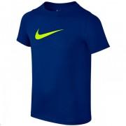 Camiseta Nike Infantil Dry Tee - Azul e Limão