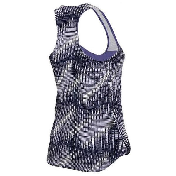 a98110024a Camiseta Nike Feminina Pure Tank Premium - Roxa e Branca - Oficina ...