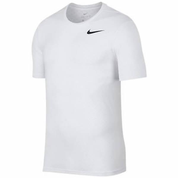 Camiseta Nike Breathe Top SS - Branca - Oficina do Tenista 0690eb1a4c312