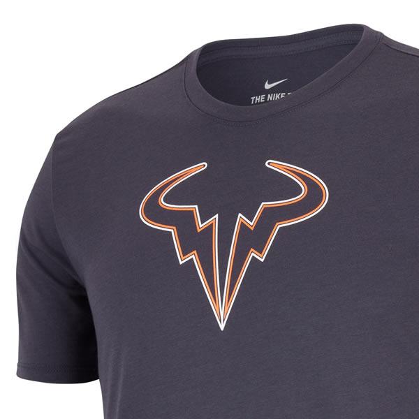 Camiseta Nike Dry Tee Rafael Nadal - Cinza - Oficina do Tenista 01374e41127b3