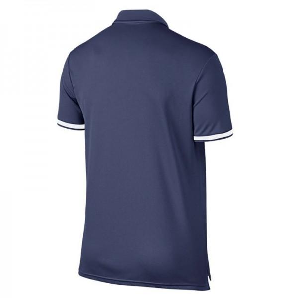 Camisa Polo Nike Court Dry - Azul e Branco - Oficina do Tenista b1bb3dce8a221