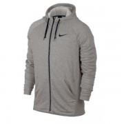 Moletom Nike Dry Hoodie Fleece - Cinza e Preto