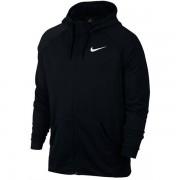 Jaqueta Nike Dry Hoodie Fleece  - Preto e Branco