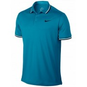 Camisa Polo Nike Dry Solid - Turquesa