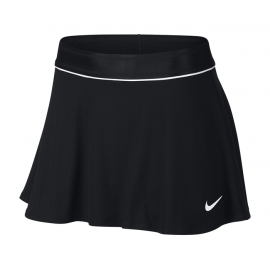 Saia Short Nike Court Flouncy - Preta e Branco