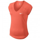 Camiseta Nike Feminina Pure - Laranja