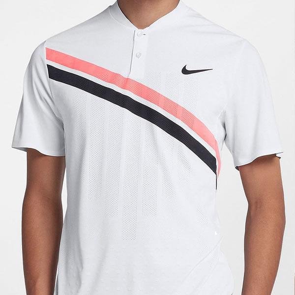 Camisa Polo Nike RF Zonal Advantage Henley - Oficina do Tenista c86446c001aa6