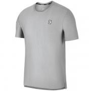 Camiseta Nike Top SS Checkered - Cinza Claro
