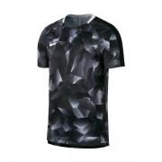 Camiseta Nike Infantil Dry Squad - Preto e Branca