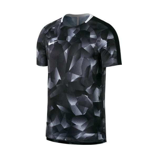 2b19a71f9f3e2 Camiseta Nike Infantil Dry Squad - Preto e Branca - Oficina do Tenista