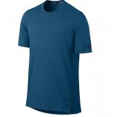 Camiseta Nike MC Breathe Elite - Azul Escuro