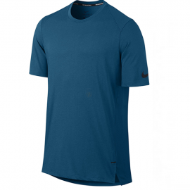 Camiseta Nike MC Breathe Elite - Azul Escuro