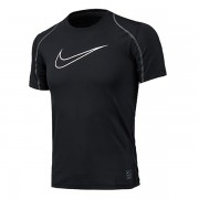 Camiseta Nike Youth Pro Cool Infantil - Preto