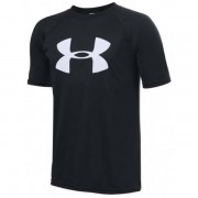 Camiseta Under Armour Infantil Big Logo - Preta