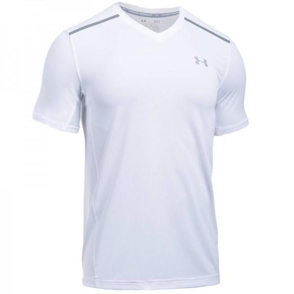 9e9db3f1f9b Camiseta Under Armour Threadborne Center Court V Tennis - Branca ...