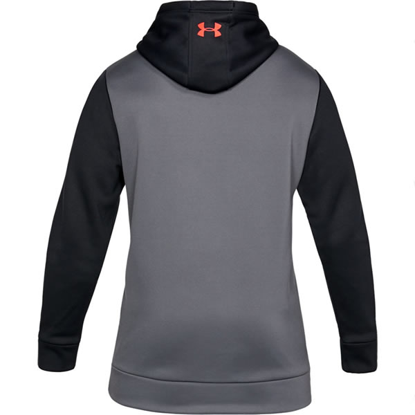 aaa219f55d Moletom Under Armour Icon Solid - Preto e Cinza - Oficina do Tenista