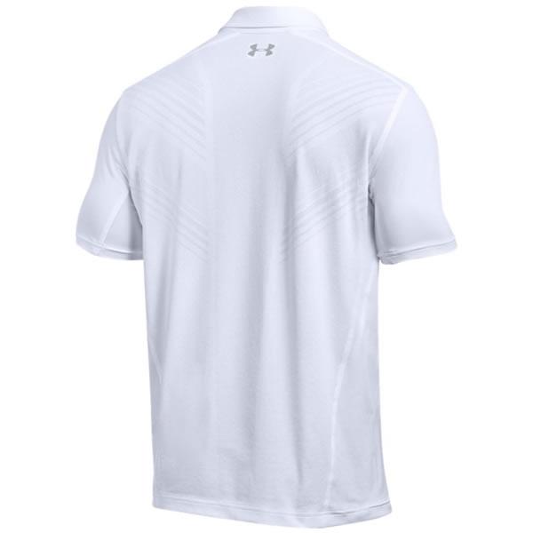 0965b40c90e Camisa Polo Under Armour Court Low - Branco - Oficina do Tenista