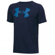 Camiseta Under Armour Infantil Big Logo - Marinho