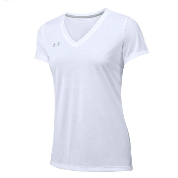 6a49110c6bd Camiseta Under Armour Feminina Threadborne - Branca - Oficina do Tenista