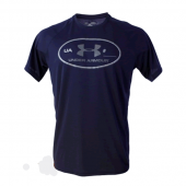 Camiseta Under Armour Lockerteg - Marinho