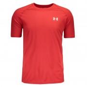 Camiseta Under Armour Tech - Vermelho