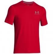 Camiseta Under Armour Sporstyle Logo - Vermelho