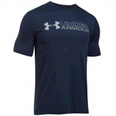 Camiseta Under Armour Wordmark  - Marinho