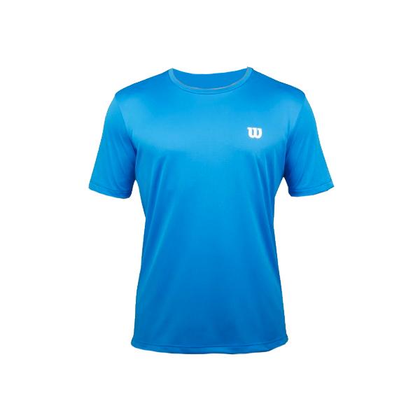 c3663987030dd Camiseta Wilson Training - Azul - Oficina do Tenista