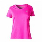 Camiseta Wilson Tour Infantil Feminino - Rosa Pink