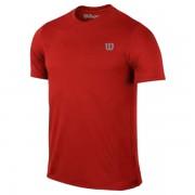 Camiseta Wilson Core Infantil  - Vermelho