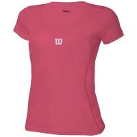 Camiseta Wilson Core Infantil Feminino - Rosa
