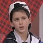 Novak Djokovic em entrevista aos sete anos!