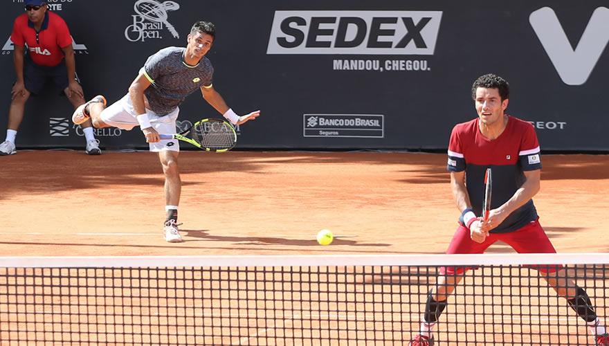Rogérinho e André Sá vencem Brasil Open 2017
