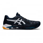 Tênis Asics Gel Resolution 8 Clay - French Blue e Branco