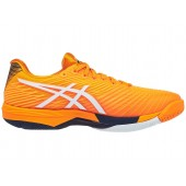 Tênis Asics Solution Speed FF 2 - Amber e Branco