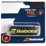 Cushion Grip Babolat Syntec Pro - Preto e Amarelo