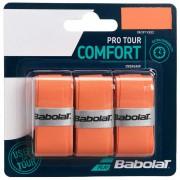 Overgrip Babolat ProTour Laranja - 3Und