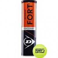Bola de Tênis Dunlop Fort Clay - 4 Bolas