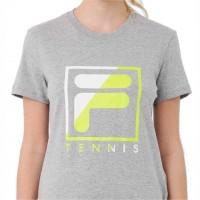 Camiseta Fila Soft Urban Acqua Feminina - Mescla