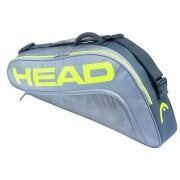 Raqueteira Head Extreme 3R Pro - Cinza e Amarelo