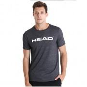 Camiseta Head Básica Mescla - Preta