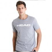Camiseta Head Básica Mescla - Cinza