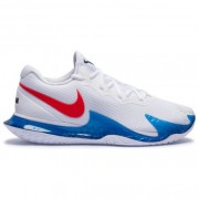 Tênis Nike Zoom Vapor Cage 4 Rafa Nadal - Branco e Azul