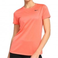 Camiseta Nike Feminina Dri-Fit Legend - Laranja