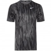 Camiseta Nike Dri-FIT Miler Wild Run - Preto