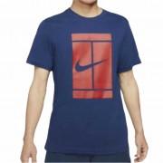 Camiseta Nike Court Logo Tee - Azul