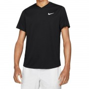 Camiseta Nike Court Dri-Fit Victory - Preta