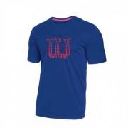 Camiseta Wilson Clay Infantil - Marinho