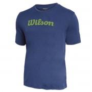 Camiseta Wilson Match Infantil - Marinho