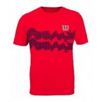 Camiseta Wilson Wave Performance III - Neon